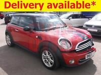 2013 Mini Cooper 1.6 DAMAGED REPAIRABLE SALVAGE