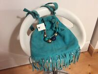 Ladies Torquoise Bag