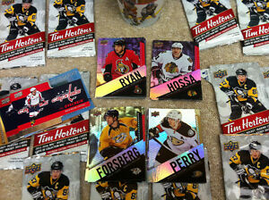 Tim Hortin's hockey cards