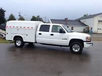 2007 diesel 3500 Sle 4x4 Alison electricians box new MVI SPECIAL