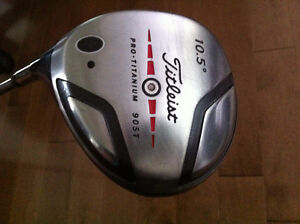 LH Titleist 905T Driver and 980 3 wood