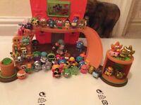 Huge bundle of moshi monsters and play house