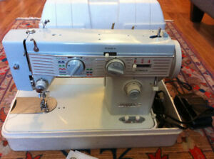 Strong sewing machine WHITE Brand - 1.3 amp motor