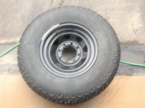 235/85R16 tires and rims