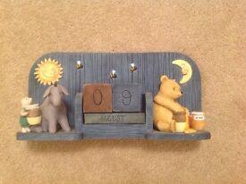winnie the pooh calendar