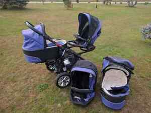 Double Stroller - Twinni by Babyactive Kawartha Lakes Peterborough Area image 2