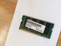 Notebook or laptop memory 512mb (10$)