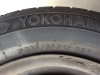 Toyota Camry tires with rim