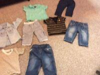 Boys 6-9 months clothing bundle 20 items