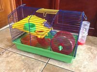 HAMSTER CAGE & ACESSOTIES