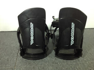 Wombat adjustable snowboard bindings - made in Italy Cambridge Kitchener Area image 2