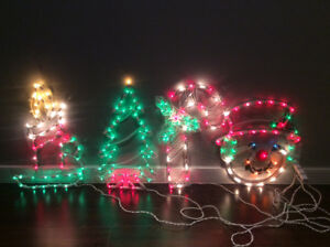 Christmas characters decor lighting