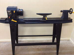 "33.5"" Variable Speed Wood Lathe ~ As New"