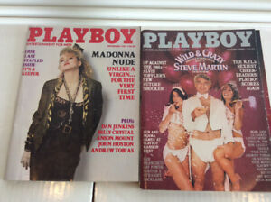 Play Boy Magazines Issues: 1969 -> 1985