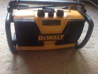 Dewalt radio