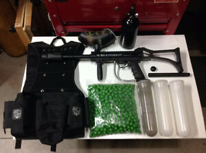 BT-4 Combat Paintball Marker package