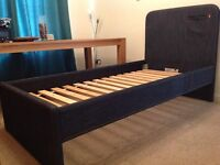 Denim 'Jeans' single bed frame bought from Next