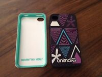 ANIMAL PHONE CASES FOR IPHONE 4S EXCELLENT CONDITION