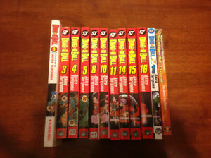 10 dragon ball z comic books mangas