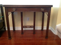 Antique Knechtel Expandable Dining Table