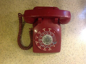 PRICE DROP! Vintage desk top rotary telephone