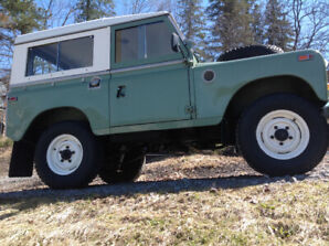 Landrover series 2a 88 1970. off frame restoration!