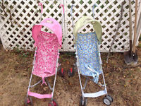 2 Cosco strollers