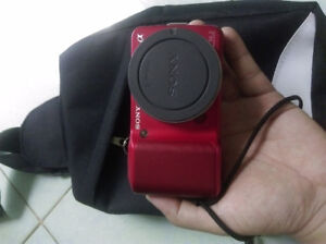 sony NEX 3 body ( red )