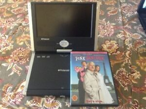 "PANASONIC 8.5""SWIVELSCREEN PORTABLE DVD PLAYER &FREE VIDIO"
