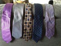 5 ties - next/M&S - good condition