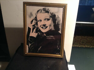 ANTIQUE MINI METAL PHOTO FRAME
