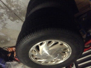 Snow tires on Ford rims