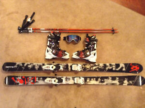 VOLKL MANTRA SKIS & ATOMIC BOOTS PACKAGE NEVER USED