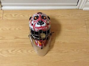 Goalie mask with Throat protector
