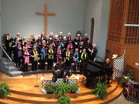 The Robert Wood Singers Welcome You...