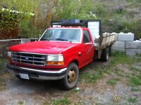 1994 ford f-350 7.3 turbo diesel w/ dump box