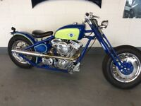 Part Exchange Welcome New Build Custom Revtech 1450cc Bobber Not Harley Davidson Chopper