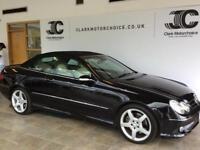 2009 Mercedes-Benz CLK 3.0 CLK280 Sport 7G-Tronic 2dr Petrol black Automatic