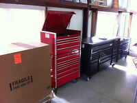 Snap-on and Mac tool storage units