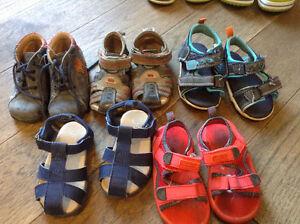chaussures pour garçons gr 5 ou 20 BOPY et autres marques