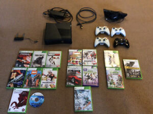 Mint condition Xbox 360 black edition (lots of games)