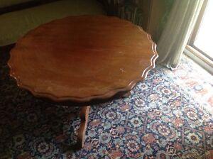 large English coffee table