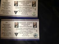 Tickets to Fernando Ricksen Charity Evening