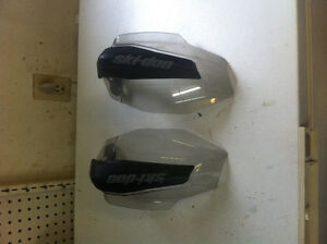 Skidoo clear hand guards