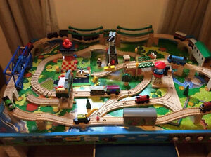 Thomas train table with storage bench