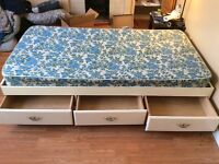 Twin bed!