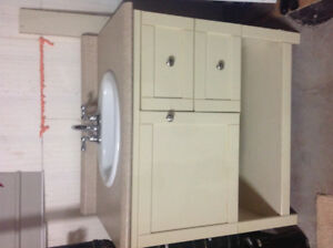Bathroom sink and cabinet - SOLD