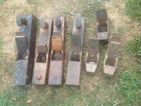 Job lot vintage wooden planes
