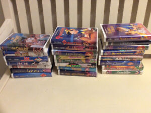 Disney and others VHS TAPES