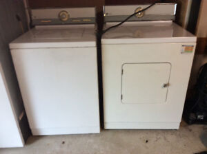 Maytag washer and dryer, good working condition $95.00/pair